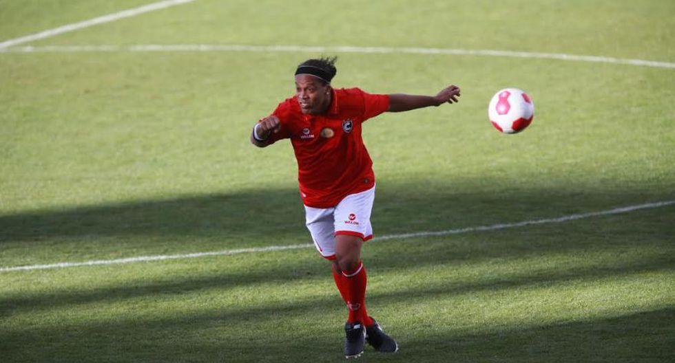 Ronaldinho: las postales del Cienciano contra Sporting Cristal - 6