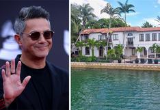 Alejandro Sanz pone en venta su increíble mansión de Miami | FOTOS