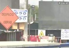 SJL: Obras en tuberías de Av. Próceres de la Independencia tienen un avance del 80%, sostiene Sedapal