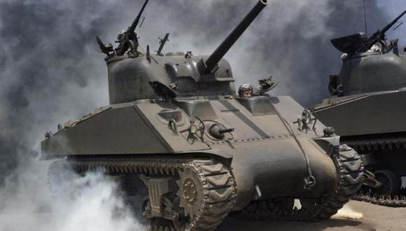 Los extraños tanques que ayudaron a ganar la II Guerra Mundial