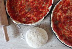 ¿Cómo congelar la masa de pizza casera?