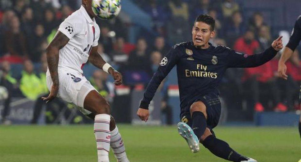 PSG venció 3-0 a Real Madrid en el inicio de la fase de grupos de la Champions. (Foto: EFE)
