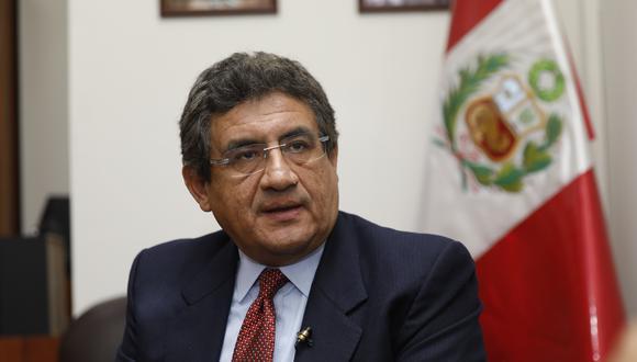 """Juan Sheput reiteró que la relación con el presidente Martín Vizcarra """"siempre ha sido buena"""". (Foto: GEC)"""