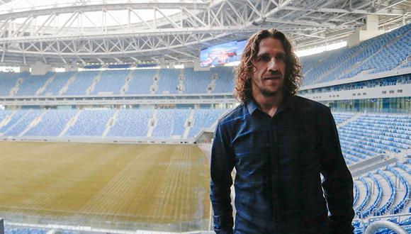 Carles Puyol trabaja ahora como representantes de jugadores. Hasta el 2015 fue parte del Área de Dirección Deportiva de Fútbol del FC Barcelona. (Foto: AFP).