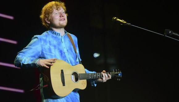 Ed Sheeran reveló, en una entrevista a la cadena BBC, que no está en sus planes sacar un nuevo disco en 2019 . (Foto: AFP)