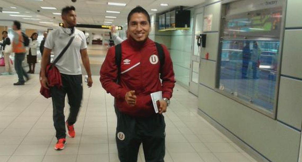 Universitario: cremas viajaron a Venezuela con Ruidíaz y Cuba