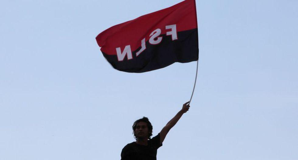 """""""Queremos justicia, paz y reparación. Y que paguen los culpables"""" de las muertes durante las protestas. (Foto: Reuters)"""
