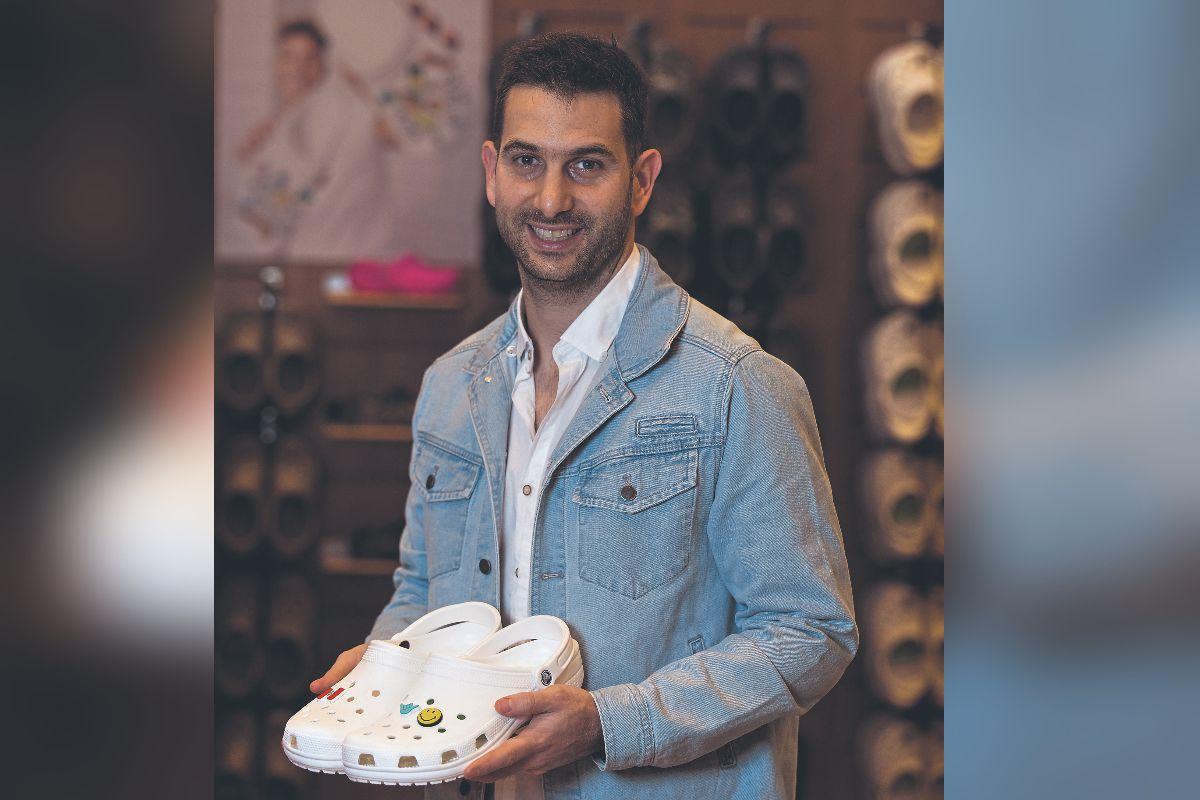 A mediados de junio Gretel lanzó el e-commerce de Crocs, ante la alta demanda que la marca registró en otras plataformas, como tiendas departamentales y 'marketplaces' durante la cuarentena. (Foto: Ángela Ponce/Día1)