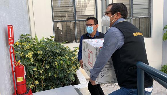 Las dosis de Pfizer serán preservadas en dos ultracongeladoras de la Universidad Santa María de Arequipa. (Foto referencial: Archivo GEC)