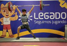 Perú sumó medallas en Torneo Internacional virtual de Levantamiento de Pesas desde la Videna