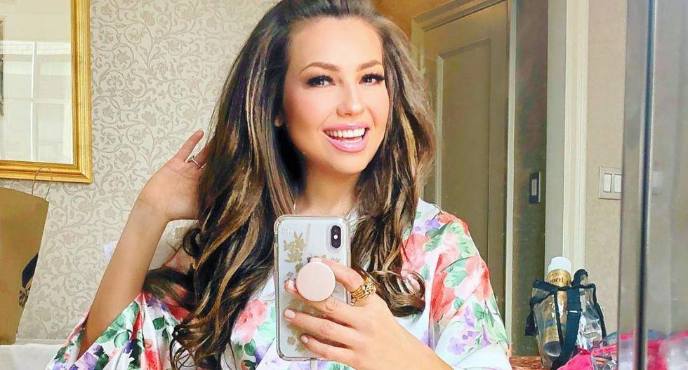 Thalía sorprende al compartir fotografía sin filtros ni maquillaje (Foto: Instagram)