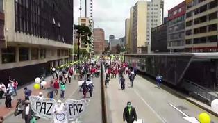 Miles vuelven a las calles en Colombia en rechazo al gobierno de Iván Duque
