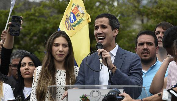 """""""Solo falta el apoyo de las Fuerzas Armadas"""", asegura esposa de Guaidó. Foto: Archivo de AFP"""