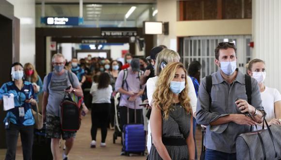 Coronavirus en Estados Unidos   Últimas noticias   Último minuto: reporte de infectados y muertos hoy, lunes 19 de octubre del 2020   COVID-19 USA   (Foto: AP/Marco Garcia).