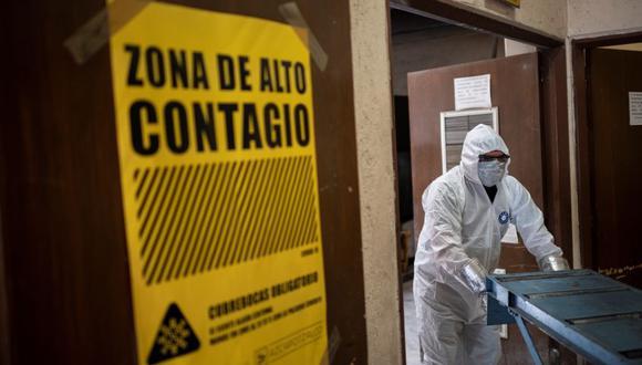 Coronavirus en México | Últimas noticias | Último minuto: reporte de infectados y muertos hoy, martes 8 de setiembre del 2020 | Covid-19 | (Foto: PEDRO PARDO / AFP).