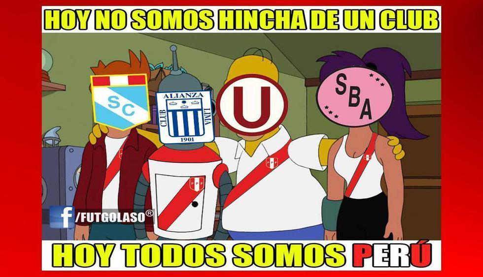 Perú vs. Bolivia: memes en Facebook. (Foto: Facebook)