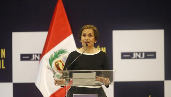 Luz Inés Tello de Ñecco presidirá comisión especial que revisará nombramientos de jueces y fiscales que realizó el exConsejo Nacional de la Magistratura. (FOTOS: RENZO SALAZAR)