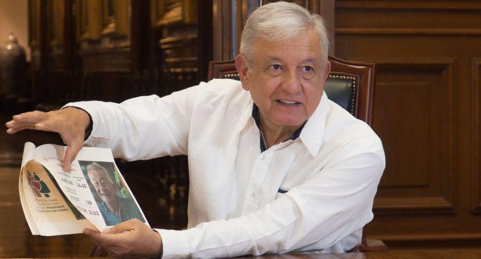 El presidente de México, Andrés Manuel López Obrador, durante un mensaje a la naciónen Ciudad de México. (Foto: EFE/Presidencia de México).