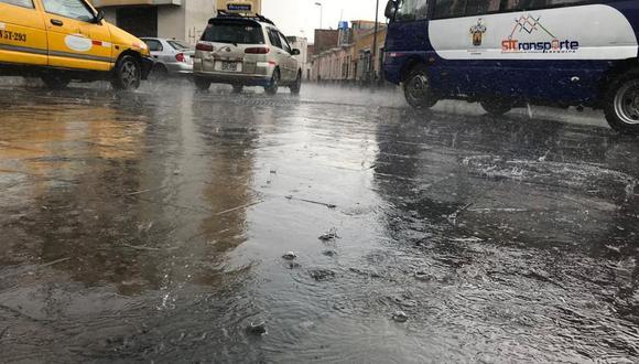 Desde el Servicio Nacional de Meteorología e Hidrología (Senamhi) indicaron que las intensas lluvias continuarán hasta el 18 de marzo. (Zenaida Condori)