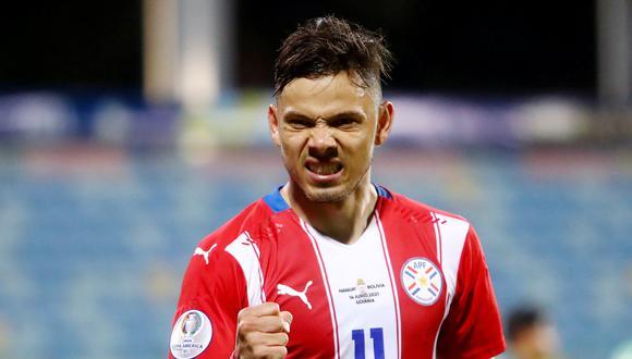 Ángel Romero disputó la Copa América con la selección de Paraguay. REUTERS/Amanda Perobelli