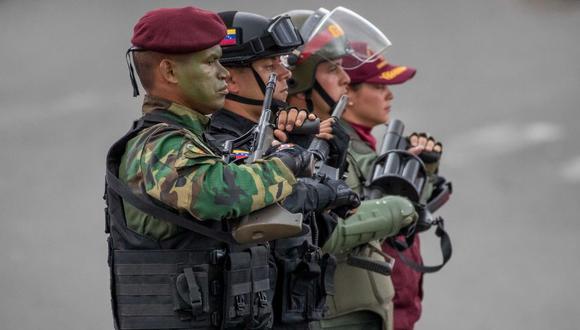 Denuncian desaparición de periodistas durante atentado contra Nicolás Maduro. (Foto: EFE)