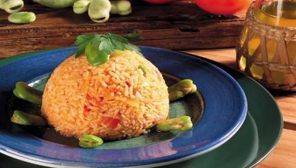 Habas guisadas con arroz