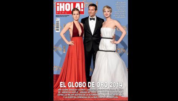"""Revive el glamour del Globo de Oro 2014 en """"¡Hola! Perú"""""""
