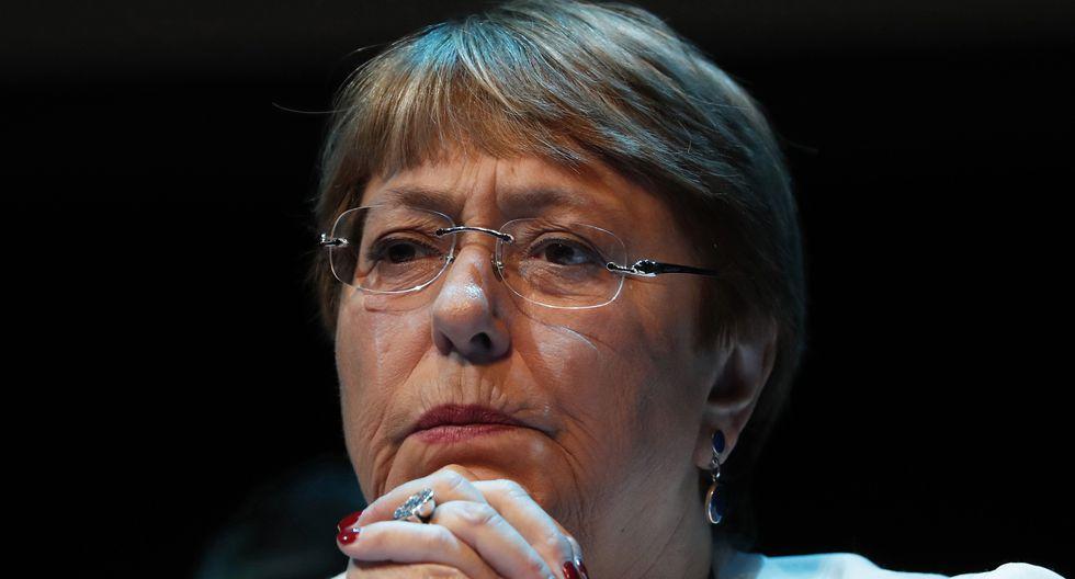 Michelle Bachelet, Alta Comisionada de la ONU para los Derechos Humanos, habló sobre la situación en Bolivia. (AP Photo/Marco Ugarte).