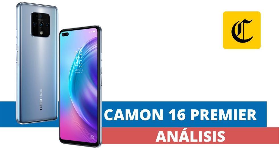 El Camon 16 Premier es el smartphone con el que la marca Tecno Mobile está debutando en el mercado peruano. (El Comercio)