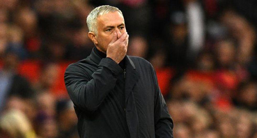Mourinho. (Foto: AFP)