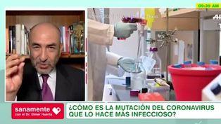 """Dr. Huerta: """"parece que la COVID-19 ha mutado para ser más infeccioso"""""""