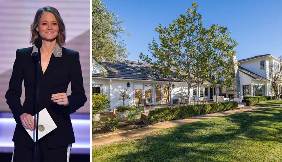 La mansión de Jodie Foster fue construida en 1952 y cuenta con 7500 pies cuadrados. Su valor es de US$ 15.9 millones. (Foto: The MLS)