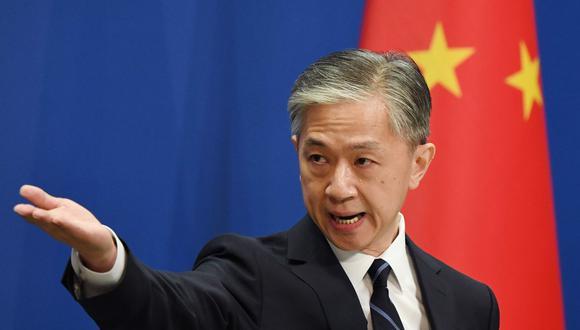El portavoz del Ministerio de Relaciones Exteriores de China, Wang Wenbin, habló sobre las tensiones que Estados Unidos ejerce  mediante el veto a TikTok. (Foto: AFP)