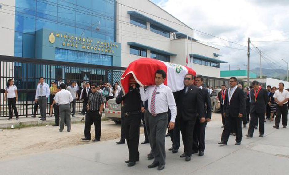 San Martín: cuerpo de fiscal asesinado fue llevado a Trujillo