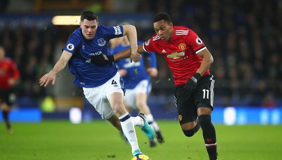 'Los Diablos Rojos' visitan a Everton esta tarde (12:30 p.m. EN VIVO por DirecTV Sports) por la jornada 22 del torneo ingles. (Foto: AFP)
