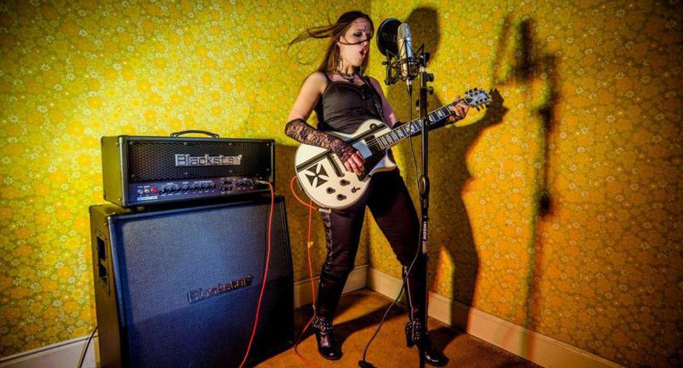 Claudia Maurtua, vocalista de Ni Voz Ni Voto.  (Foto: Ni Voz Ni Voto)