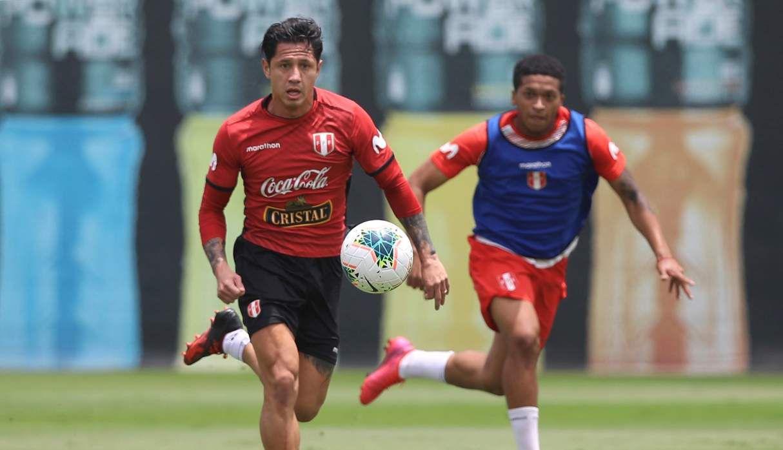 Gianluca Lapadula jugó por AC Milan entre 2016 a 2017. (Foto: Federación Peruana de Fútbol)