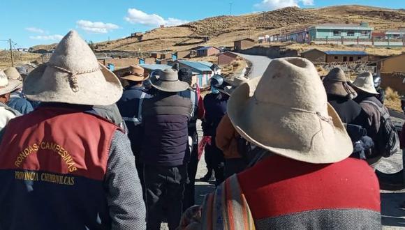 El corredor minero permanece bloqueado.