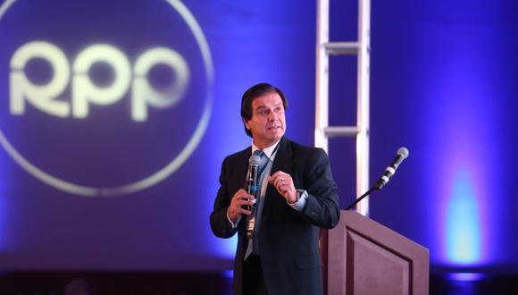 Carlos Paredes, presidente de la Sociedad de Hidrocarburos