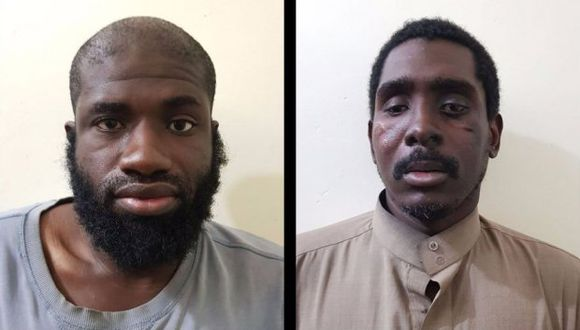 Dos estadounidenses, uno de ellos de Houston, junto a un irlandés de Dublín y a dos paquistaníes de Lahore y de Sialkot, fueron detenidos. (Foto: Twitter/@DefenseUnits)