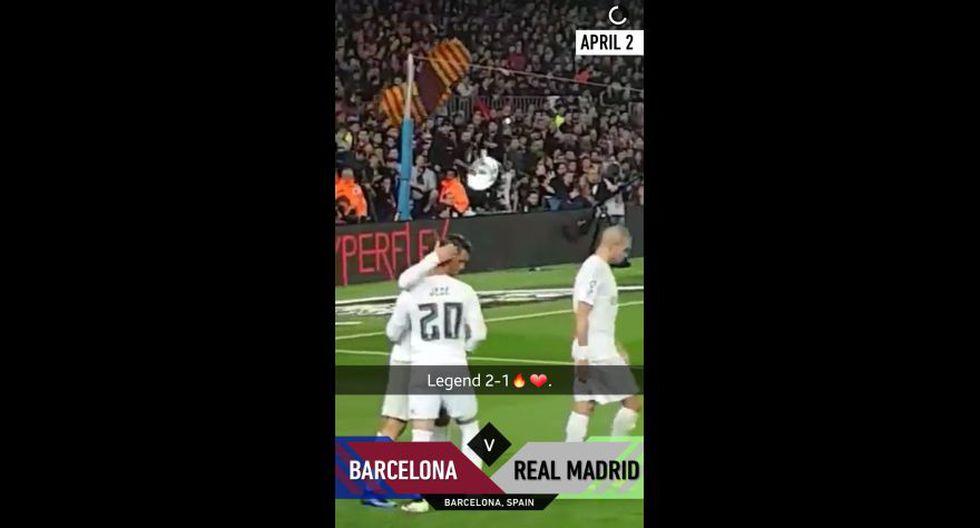Así se vivió el Barcelona vs. Real Madrid en Snapchat - 20