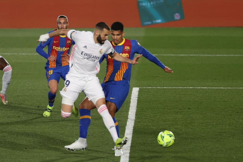 Real Madrid enfrentó al Barcelona por LaLiga Santander