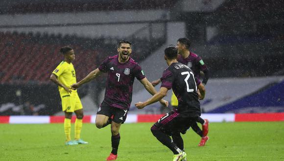 México venció 2-1 a Jamaica con goles de Alexis Vega y Henry Martin (Foto: Twitter Selección Nacional MX)