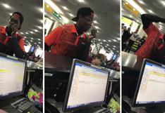 Joven demostró su talento para el beatbox en un aeropuerto y dejó boquiabiertos a decenas de pasajeros