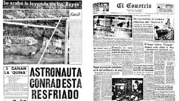 Así informó El Comercio sobre triunfo peruano ante Real Madrid