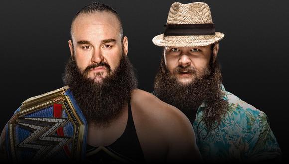 WWE confirma el duelo entre Bray Wyatt y Braun Strowman en Extreme Rules 2020   Foto: WWE