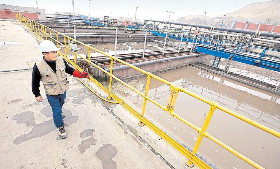 El sistema recoge y trata los desagües producidos en seis distritos de Lima. Hasta junio del año pasado, las aguas residuales eran vertidas directamente al mar. (Rolly Reyna / El Comercio)