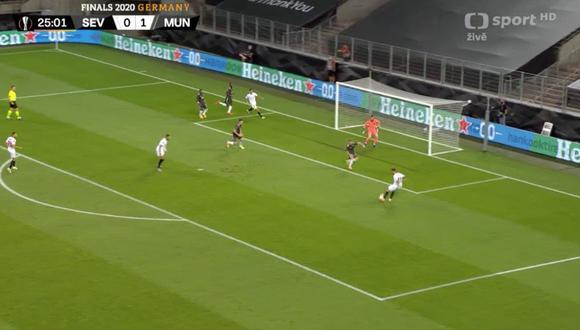 Manchester United vs. Sevilla: Suso convirtió el 1-1 tras una gran jugada colectiva de los españoles | VIDEO