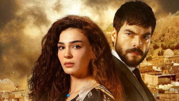 """""""Hercai"""" es protagonizada por Ebru Şahin y Akın Akınözü (Foto: Mia Yapım)"""