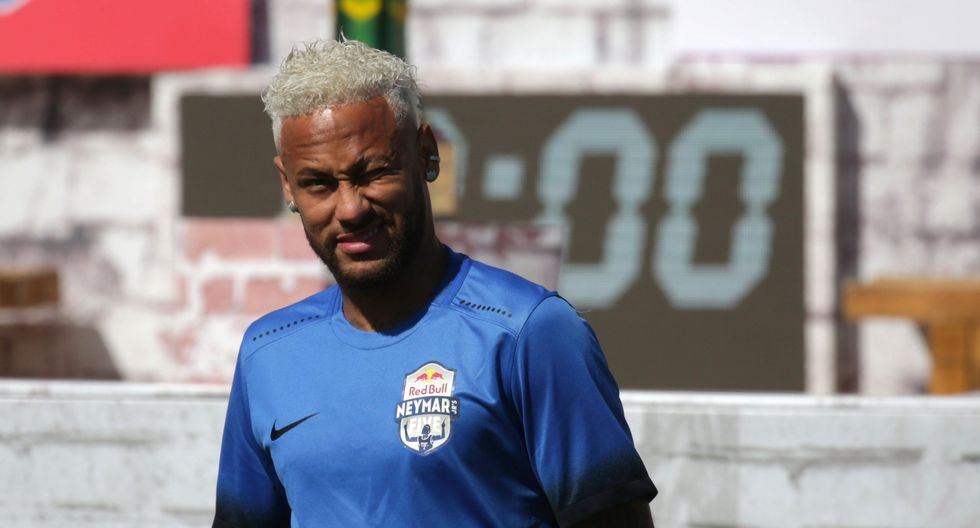 """Neymar dice que está """"casi"""" recuperado de su lesión a días de volver al PSG. (Foto: AFP)"""